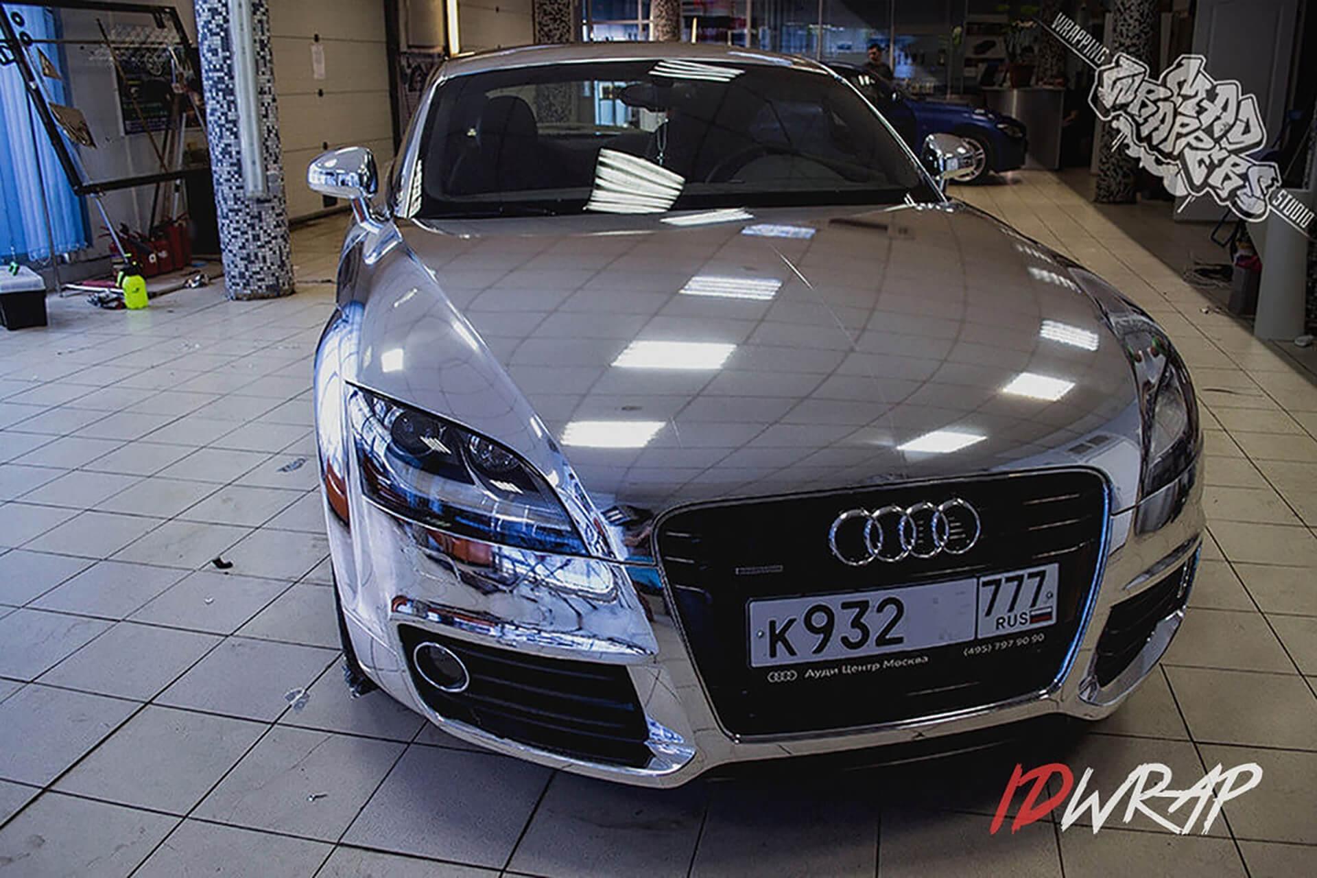 Хромированный Audi TT