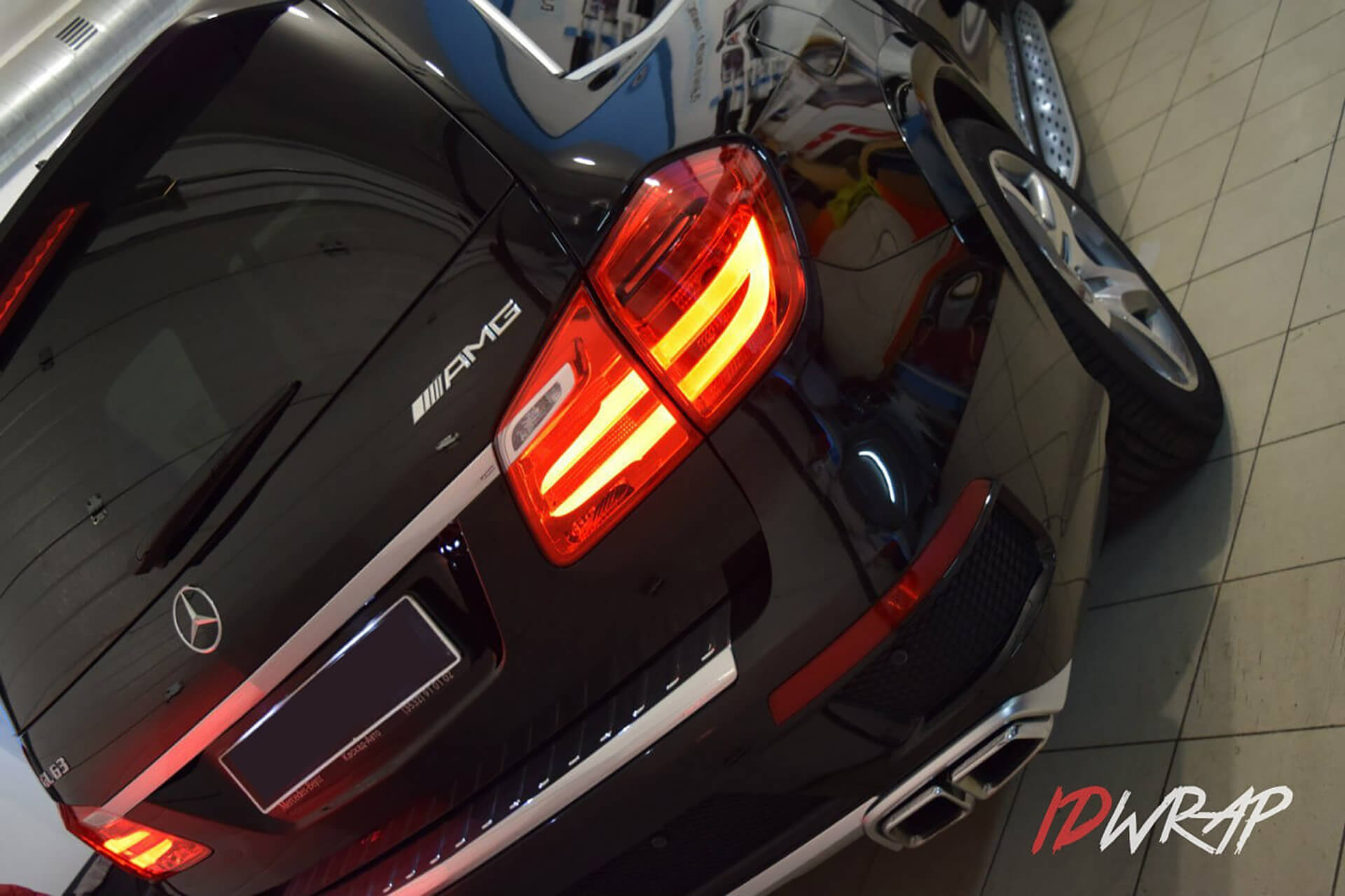 Mercedes-Benz GL63 антигравийка