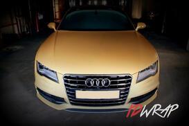 Audi Gold матовый винил