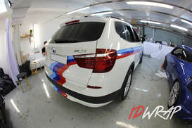 BMW M-style глянцевая пленка