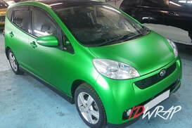 Green frog зеленый мат