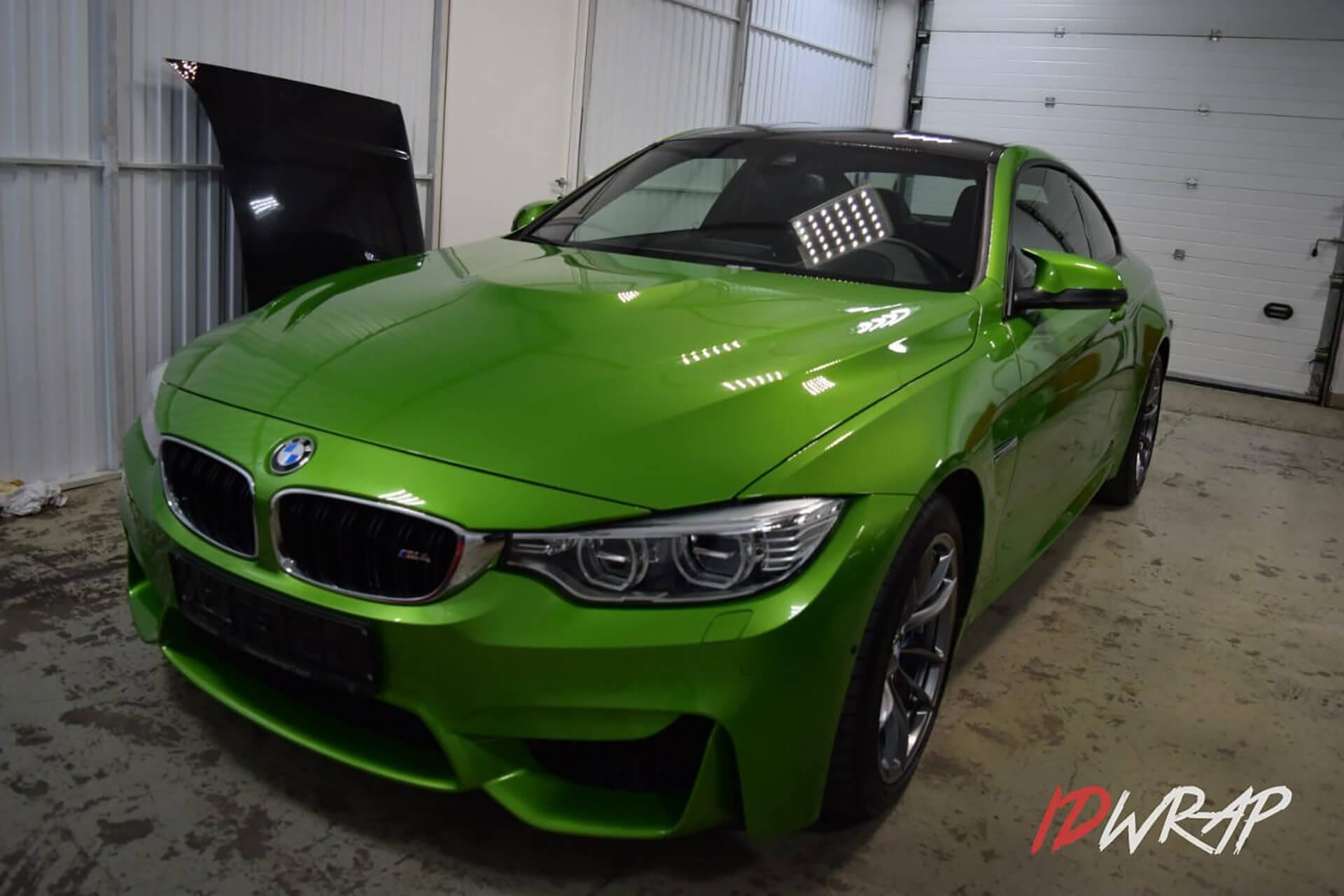 Защита BMW M4 от сколов