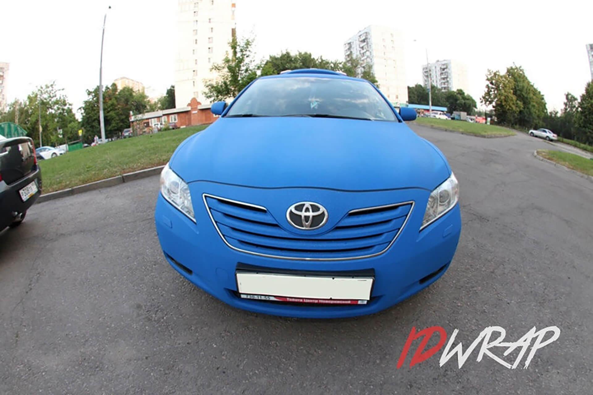 Toyota Camry синий алмаз