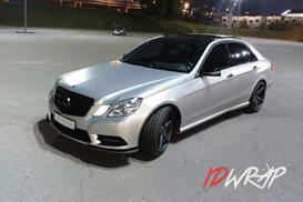 Mercedes Серебряный сатин