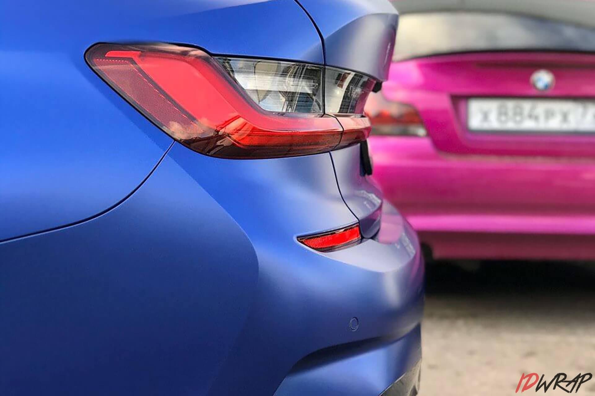 Антигравийная защита BMW G20 матовой пленкой
