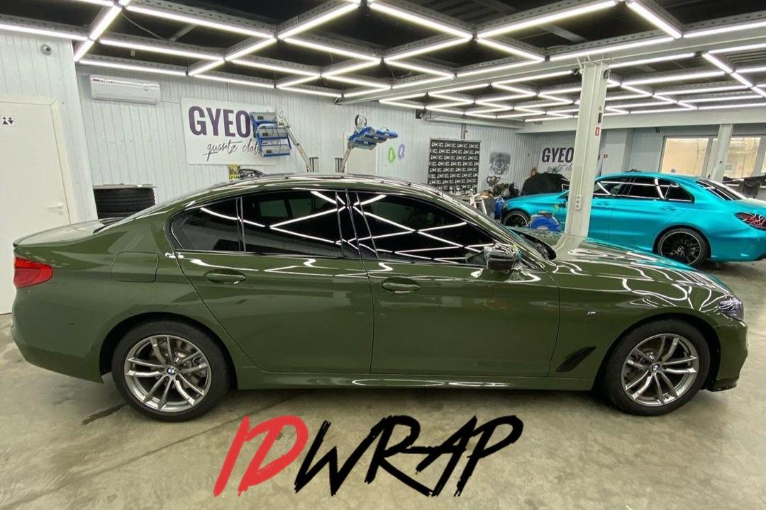 BMW G30 urban green антигравийная защита