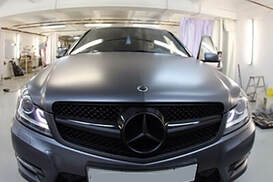 Mercedes Матовый графит