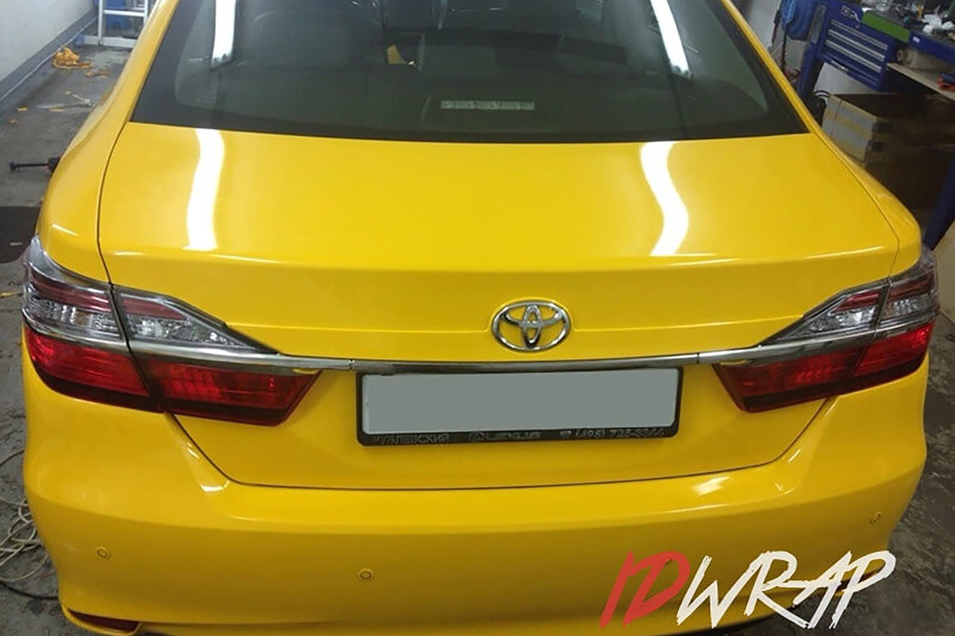 Toyota желтое Taxi