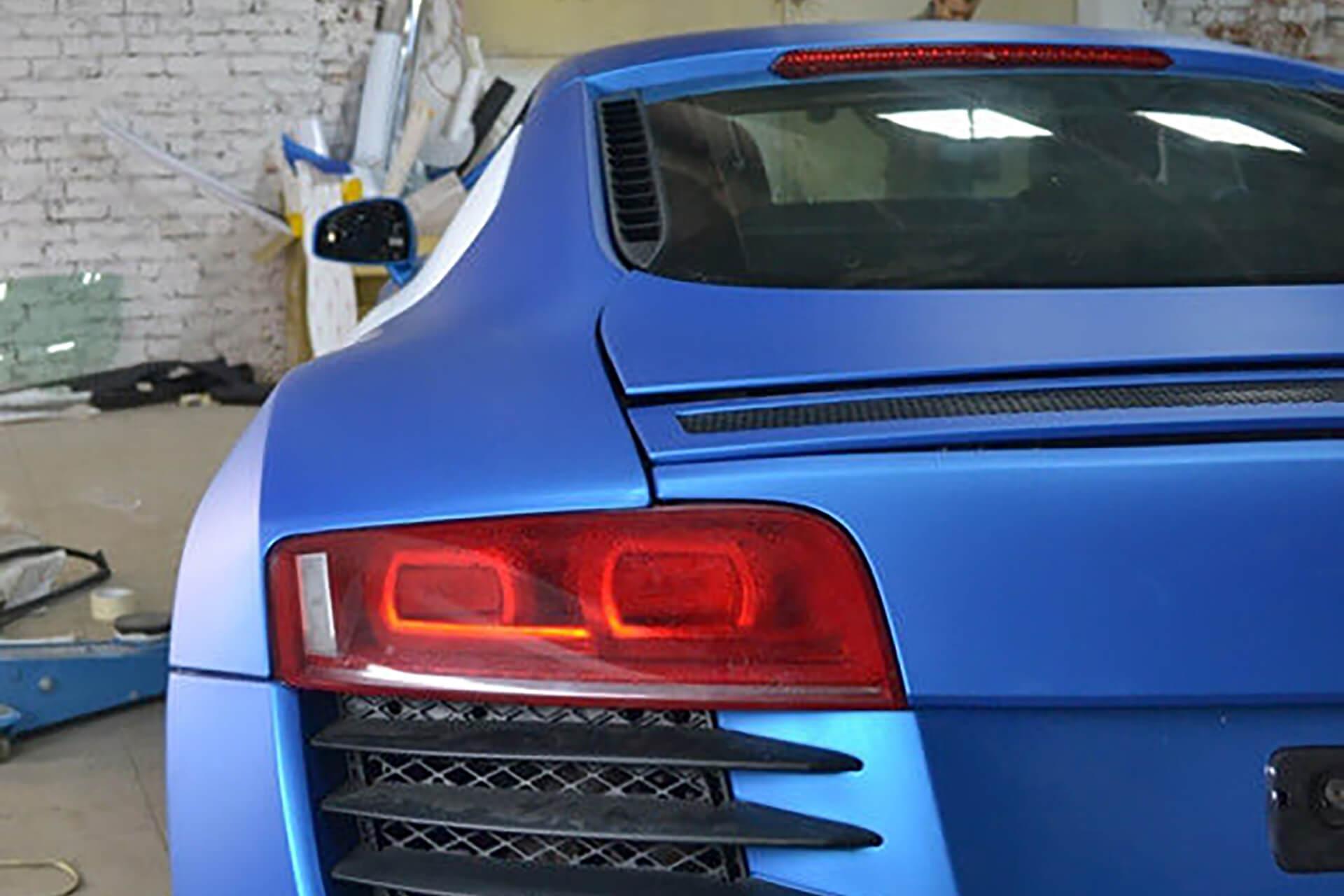Audi R8 матовый винил