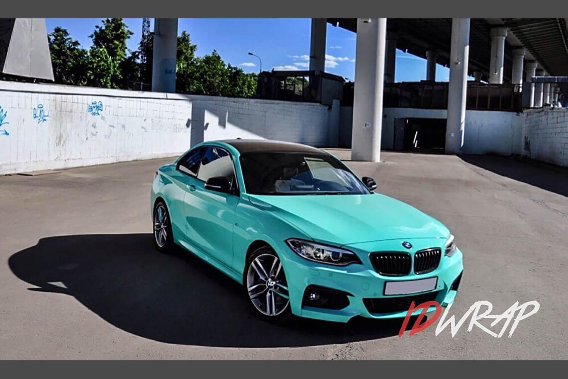 BMW Глянцевая Мята