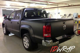 VW Black черный матовый винил