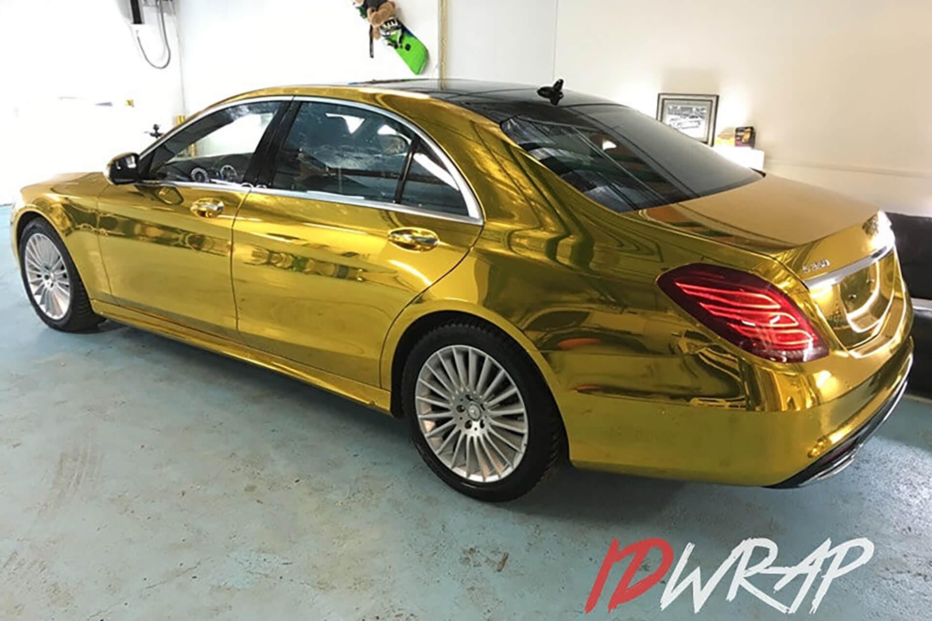 Золотой Mercedes