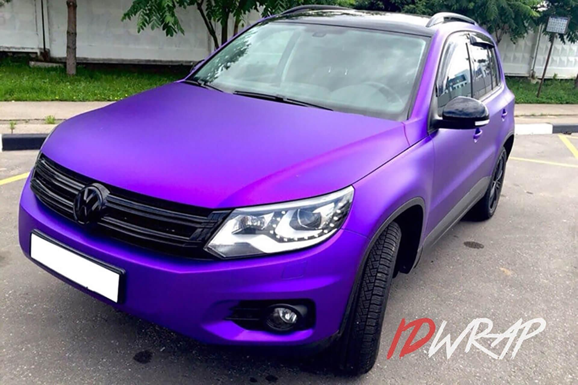 VW Tiguan матовый винил