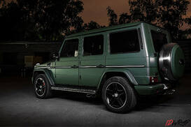 Gelendwagen 63 military green