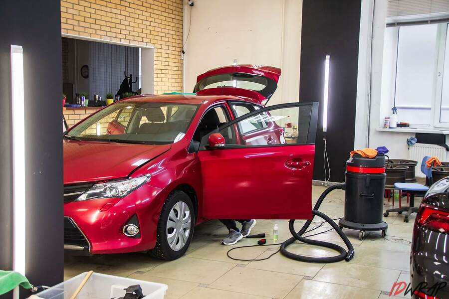 Химчистка салона Toyota Auris