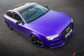 Оклейка Audi A5 пленкой TeckWrap