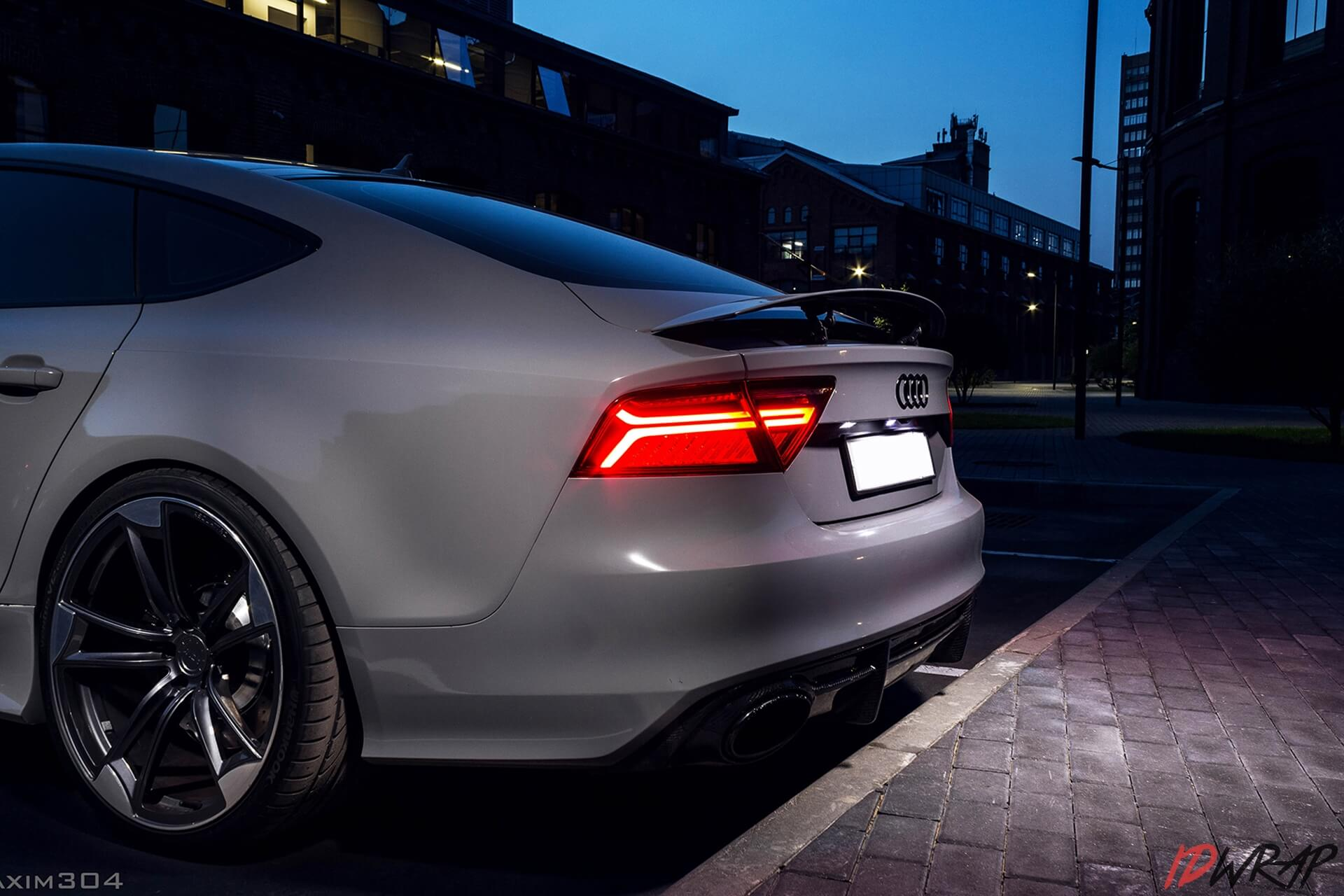 Audi в пленке sott nardo grey