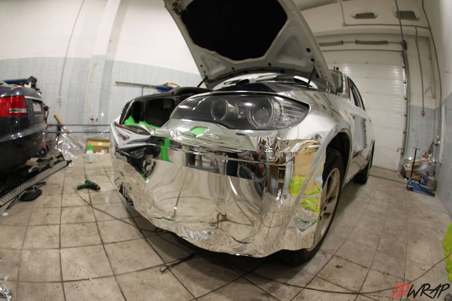 Хром nippon на BMW X6