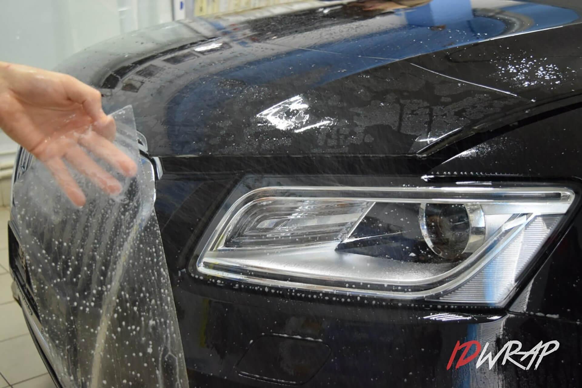 Защита Audi Q5 антигравийкой
