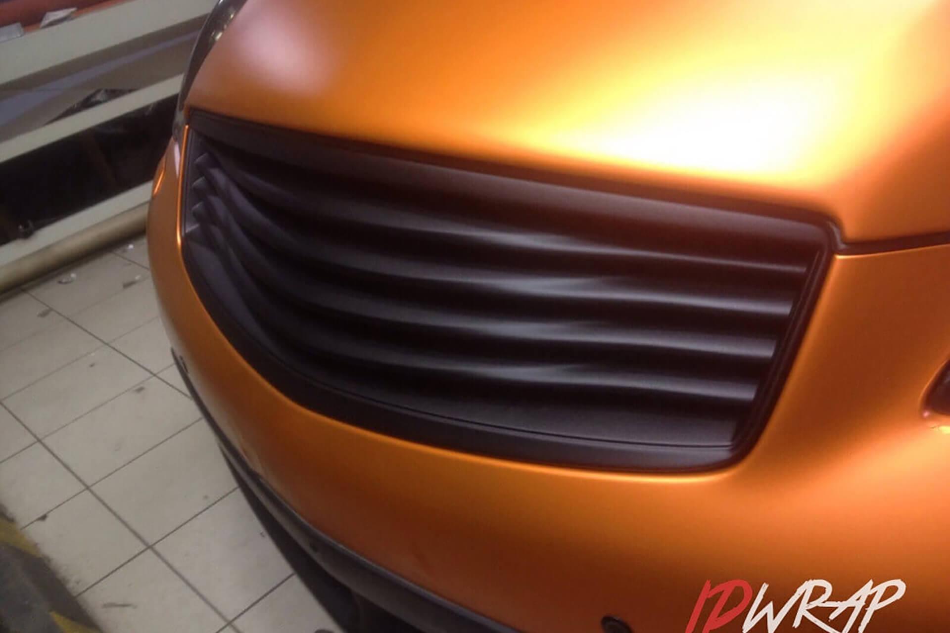 Infiniti QX матовый апельсин