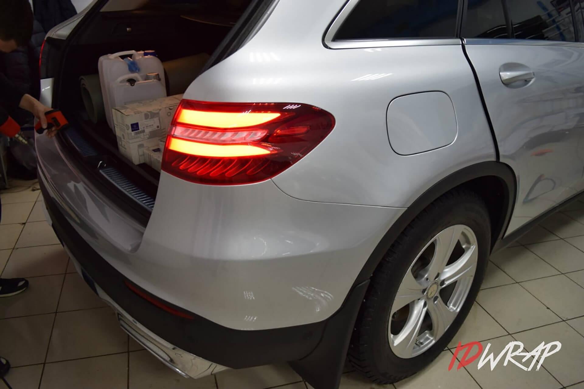 Защита кузова Mercedes-Benz GLC 220d