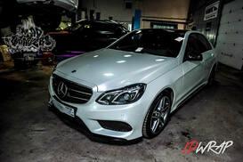Mercedess-Benz белый глянец