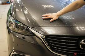 Mazda-6 оклеена пленкой suntek ppf