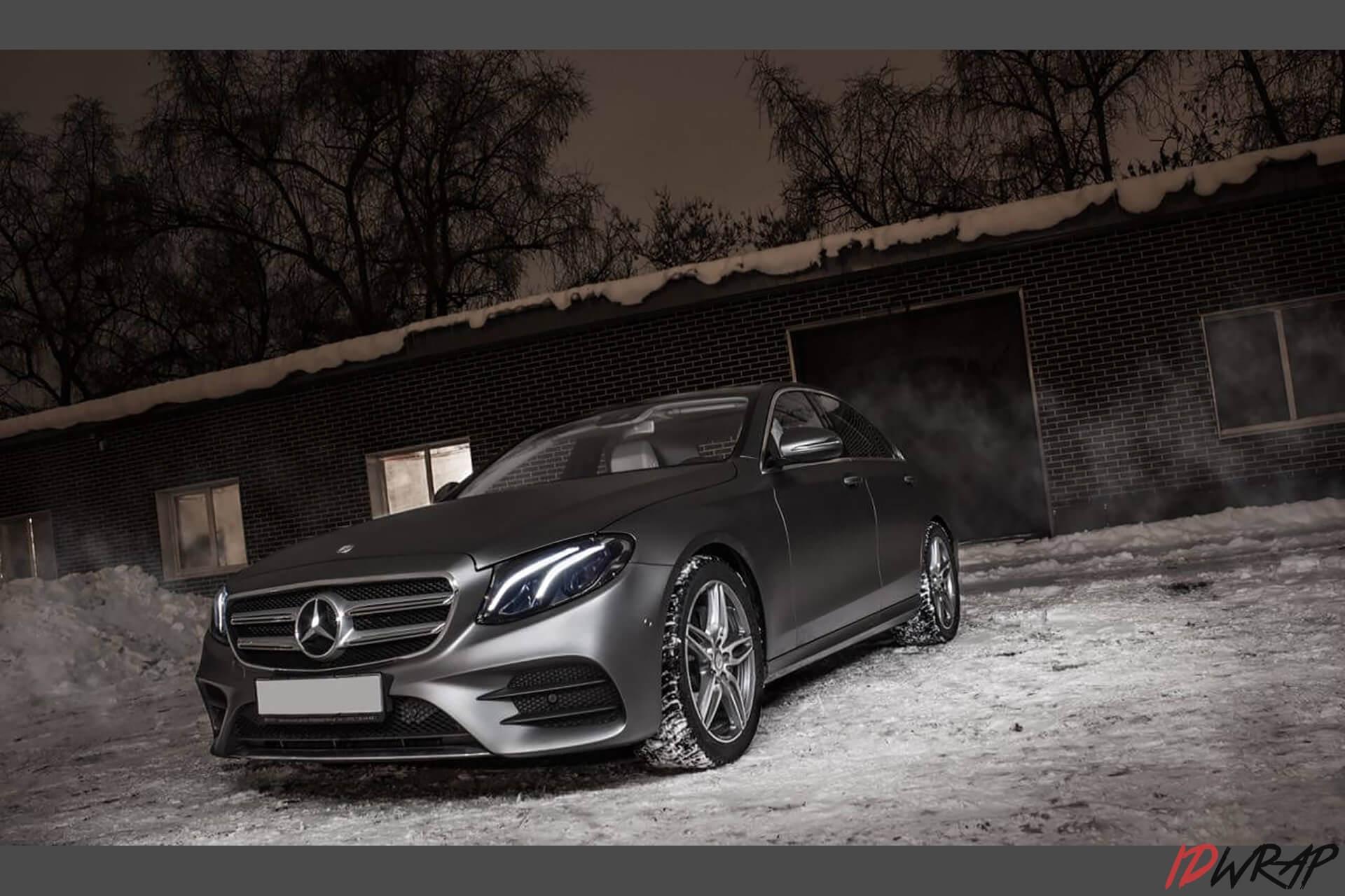 Mercedes серый мат от KPMF