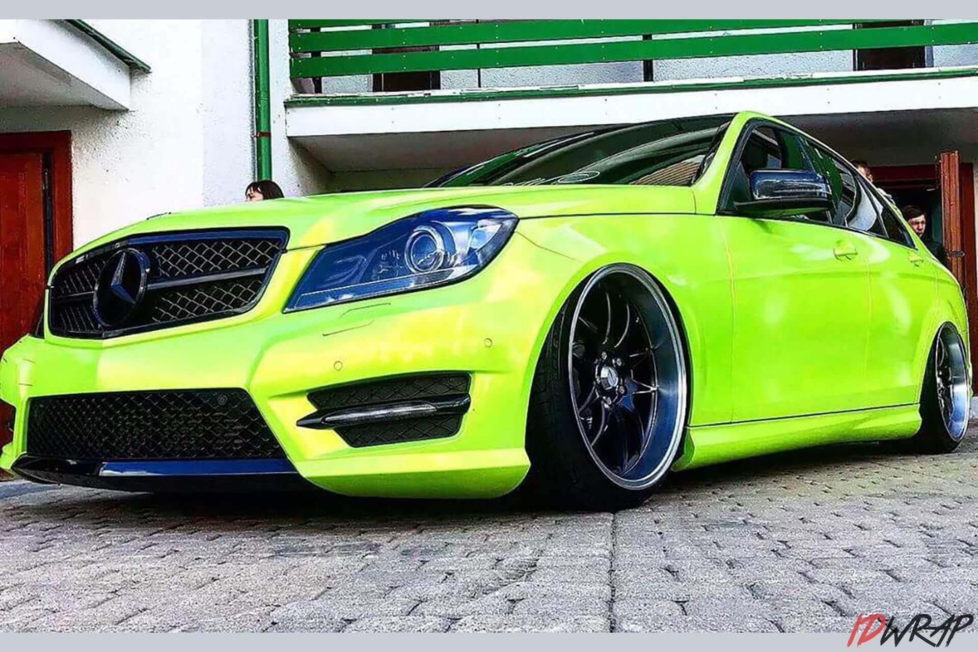 Mercedes c-class кислота от teckwrap