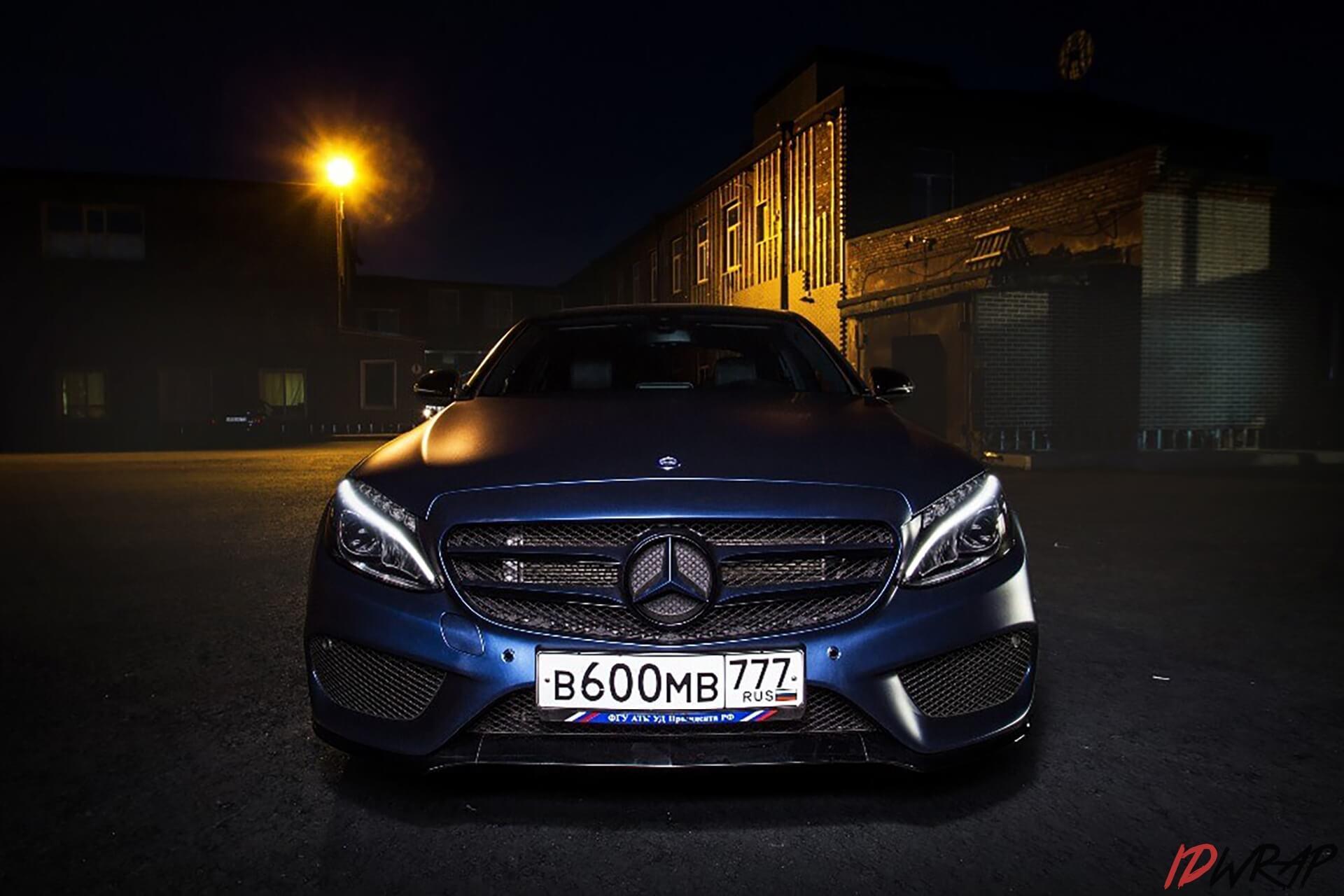Mercedes синий мат trenton blue от KPMF