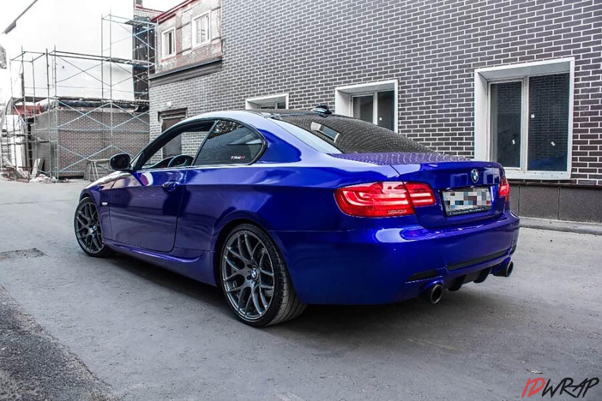 Оклейка BMW пленкой 3М