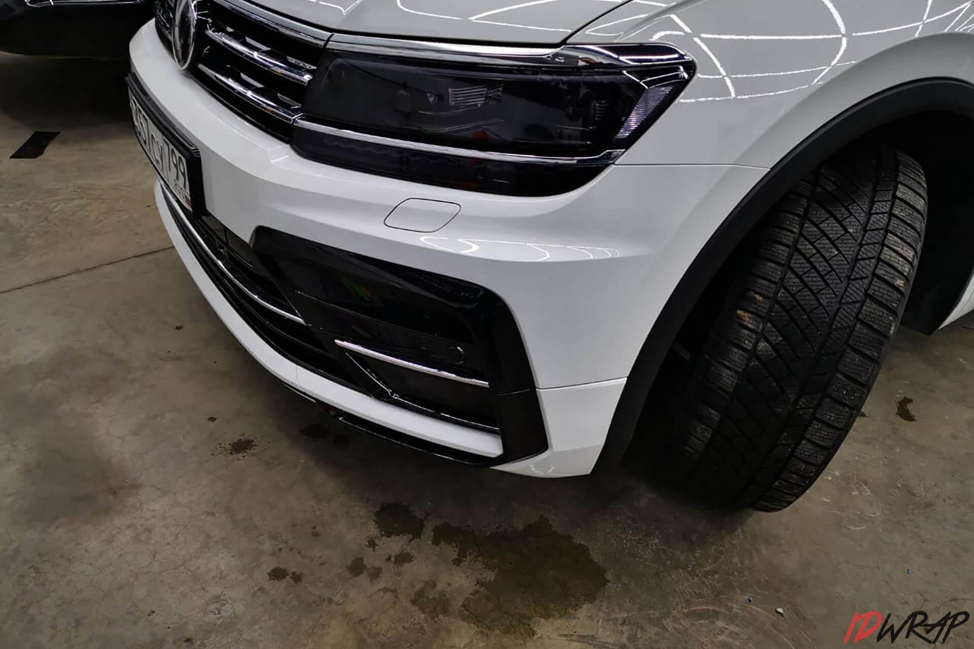 Оклейка фар на Volkswagen Tiguan