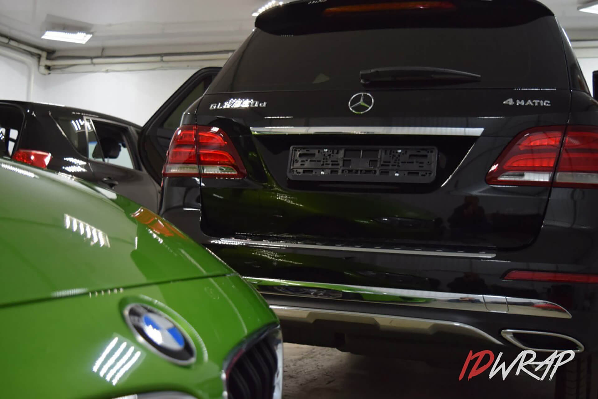 Mercedes-Benz GLE 350d антигравий