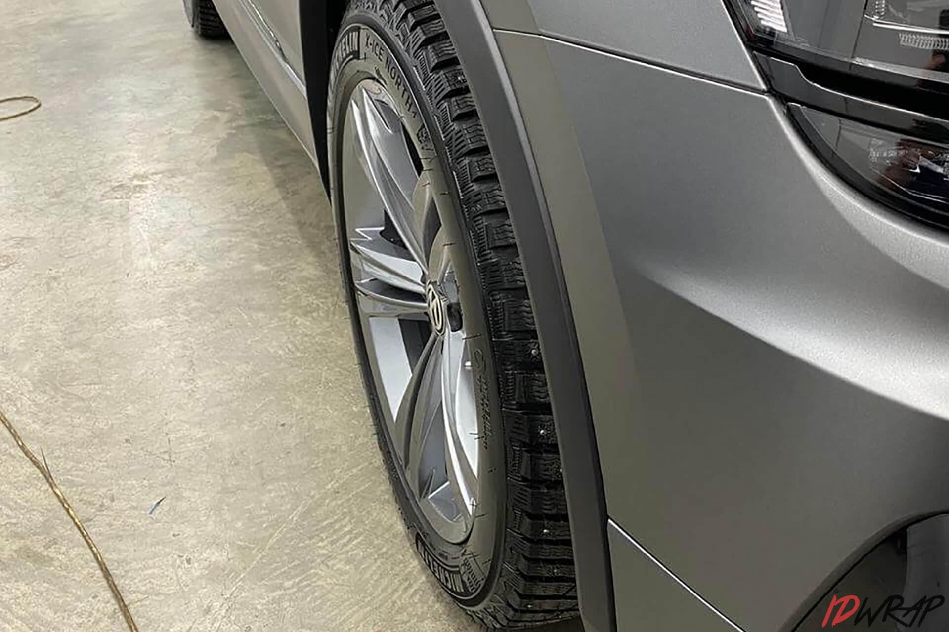 Полная оклейка WV в серый мат Oracal 970