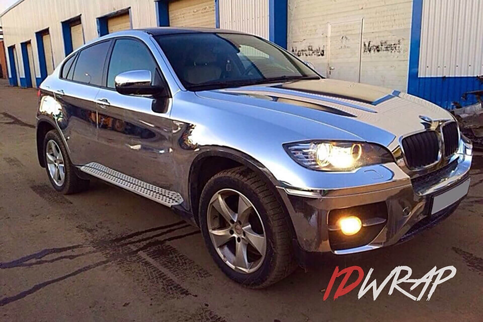 BMW X6 хром
